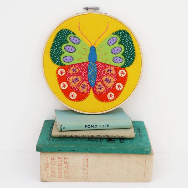 Summer Butterfly Hoop Kit