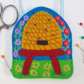 Bee Hive Lavender Bag DIY Craft Kit