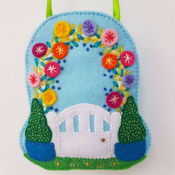 Garden Gate Lavender Bag