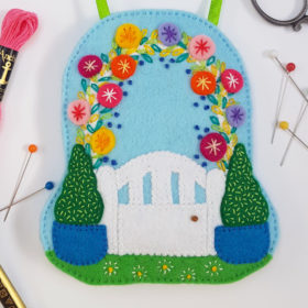 Garden Gate Lavender Bag DIY Craft Kit