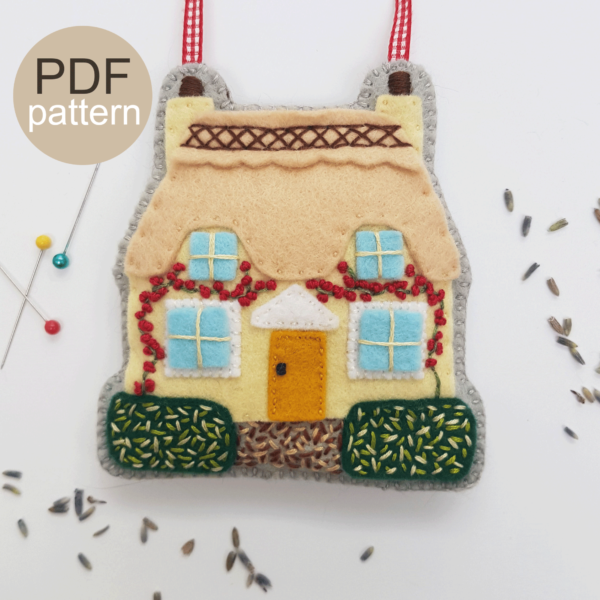 Lemon Cottage-Lavender-Bag-PDF-Pattern
