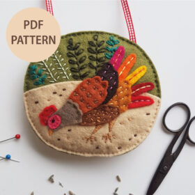Chicken-Lavender-Bag-Printable-Pattern-by-Drop-the-Weasel